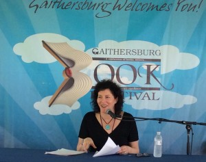 Michelle Brafman at Gaithersburg Book Festival